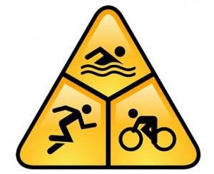 triathlon logo triangle